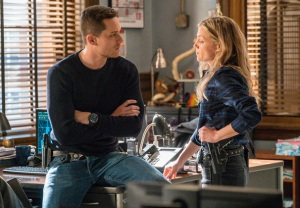 Jesse Lee Soffer and Tracy Spiridakos, Chicago P.D.