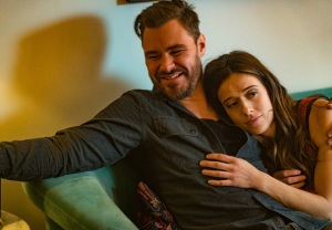 Patrick John Flueger with Marina Squerciati in Chicago P.D.