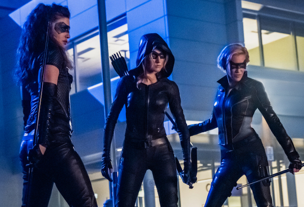 Arrow Spinoff Cancelled Canaries