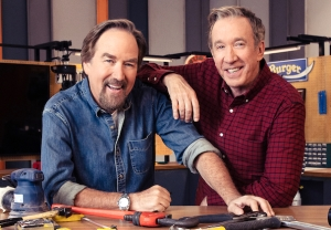 Tim Allen and Richard Karn - Home Improvement Reunion on 'Assembly Required'