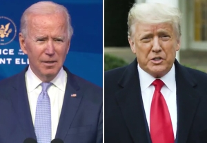 Biden, Trump Speech Video