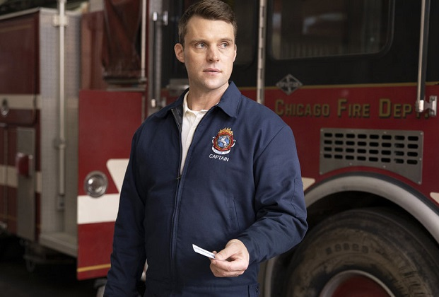 "CHICAGO FIRE -- ""Funny What Things Remind Us"" Episode 904 -- Pictured: Jesse Spencer as Matthew Casey -- (Photo by: Adrian S. Burrows Sr./NBC)"