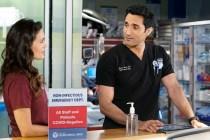 Chicago Med Bosses Break Down Natalie and Crockett's Unexpectedly 'Tender' Moment: 'It Gets Deep'