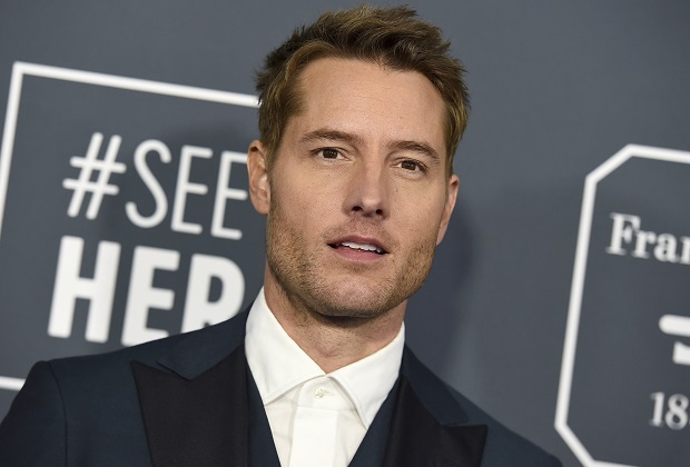 Justin Hartley arrives at the 25th annual Critics' Choice Awards on Sunday, Jan. 12, 2020, at the Barker Hangar in Santa Monica, Calif. (Photo by Jordan Strauss/Invision/AP)