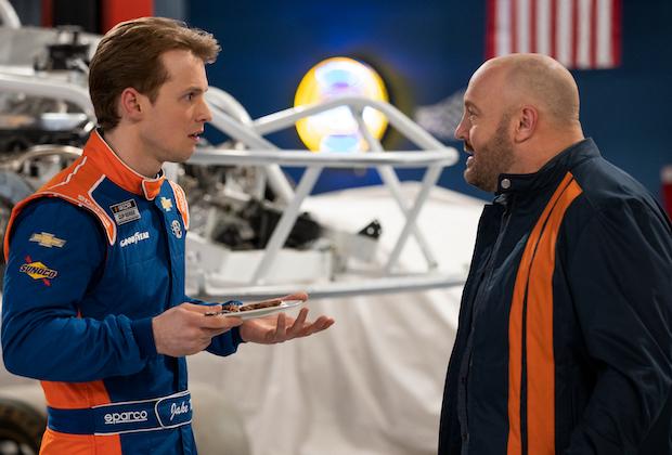 Kevin James, Freddie Stroma in Netflix NASCAR comedy 'The Crew'