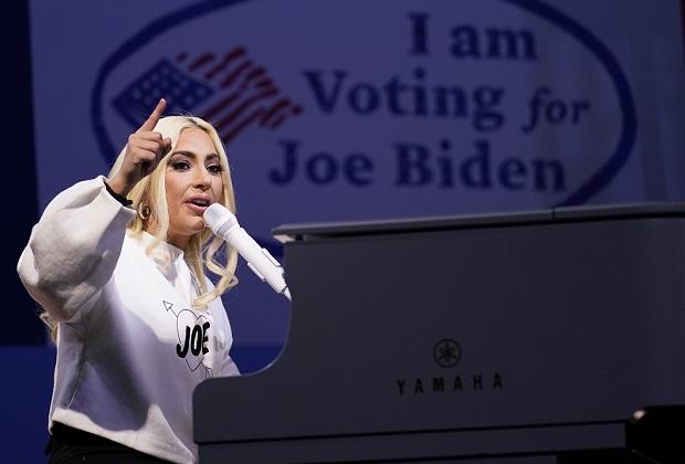 Lady Gaga Biden Inauguration