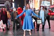 Laura Benanti Bids Adieu to Melania Trump Impression in Late Show's 'Beauty and the Beast' Parody