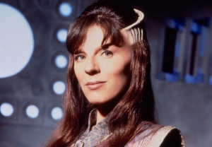 Mira Furlan as Minbari Ambassador Delenn in 'Babylon 5'