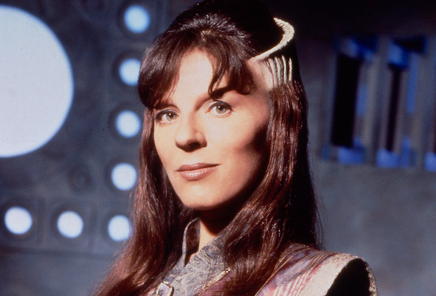 Mira Furlan as Minbari Ambassador Delenn in 'Babylon 5'