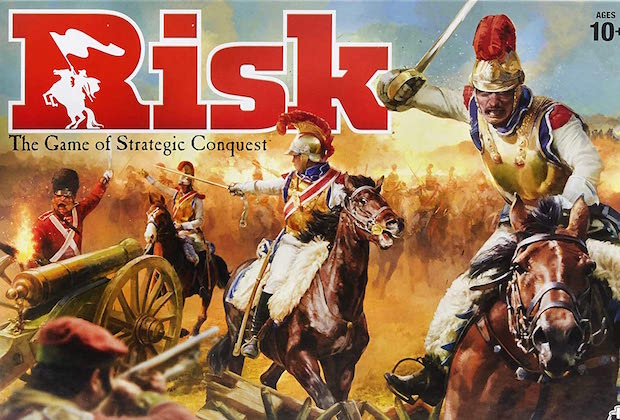 Risk TV Series Board Game