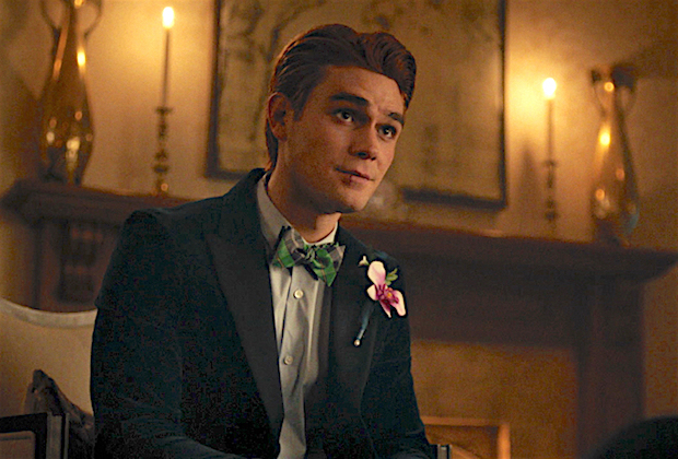 "Riverdale -- ""Chapter Seventy-Seven: Climax"" -- Image Number: RVD501fg_0012r -- Pictured: KJ Apa as Archie Andrews -- Photo: The CW -- © 2021 The CW Network, LLC. All Rights Reserved."