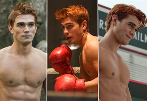 Riverdale Archie Shirtless Photos Gallery KJ Apa
