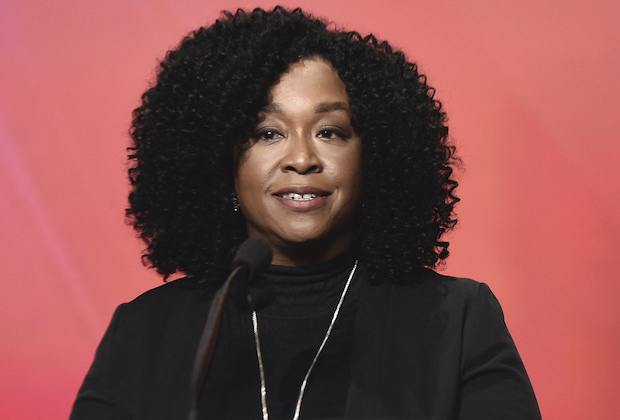 EXCLUSIVE - Shonda Rhimes speaks at the 25th Television Academy Hall of Fame on Tuesday, Jan. 28, 2020 at the Television Academy's Saban Media Center in North Hollywood, Calif. (Photo by Dan Steinberg/Invision for the Television Academy/AP Images)