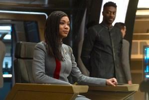 Star Trek Discovery Season 3 Finale Burnham Captain