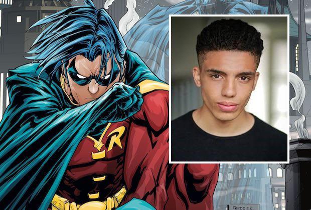 Titans Cast Tim Drake Robin