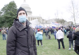 The Daily Show at U.S. Capitol Riot