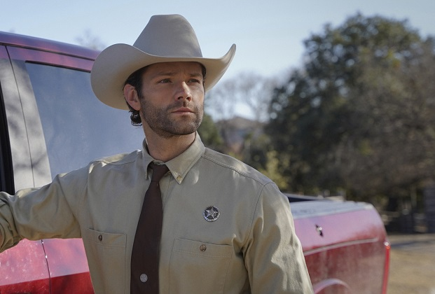 "Walker -- ""Pilot"" -- Image Number: WLK101g_0178r2 -- Pictured: Jared Padalecki as Cordell Walker -- Photo: Rebecca Brenneman/The CW -- © 2021 The CW Network, LLC. All Rights Reserved."