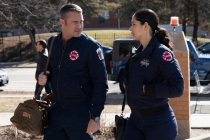 Chicago Fire's Miranda Rae Mayo and Taylor Kinney Answer the Big Question: Is Severide Ever Going to Propose?