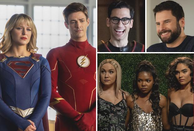 Flash Supergirl Reunion Crossover