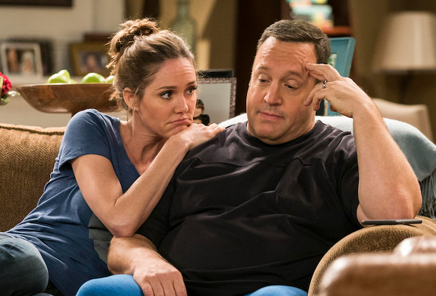 Kevin James, Erinn Hayes in 'Kevin Can Wait'