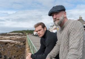 men in kilts premiere recap season 1 episode 1 sam heughan