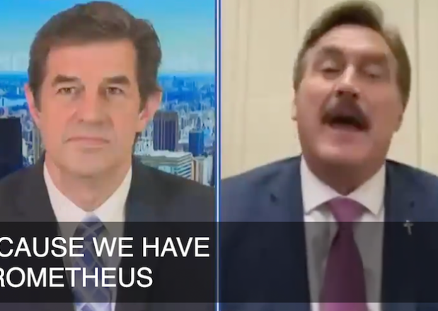 Newsmax Mike Lindell Video MyPillow