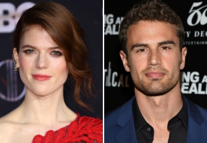 Rose Leslie, Theo James