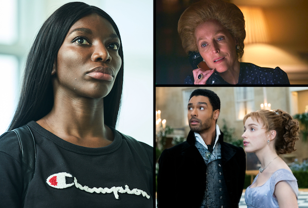 SAG Award Nominations: Schitt's Creek and The Crown Lead the TV Pack; Bridgerton and Michaela Coel (!) Among First-Timers