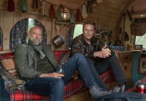 Sam Heughan video men in kilts graham mctavish starz interview