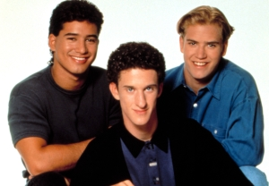 Saved by the Bell - Screech, Zack and Slater