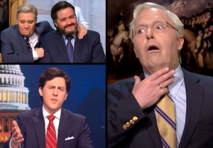 SNL - Mitch McConnell, Lindsey Graham, Ted Cruz