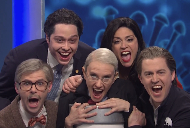SNL: Kate McKinnon's Dr. Fauci Hosts Vaccine Eligibility Game Show — Watch