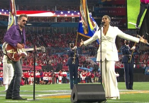 Super Bowl National Anthem