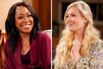 The Neighborhood's Beth Behrs Teases Hubby's Guest Spot; Tichina Arnold Previews Tina's Pat Benatar Moment