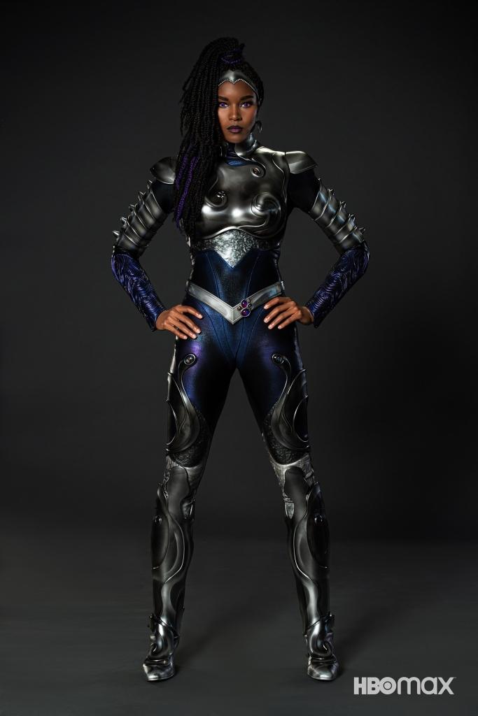 Titans - Blackfire Supersuit
