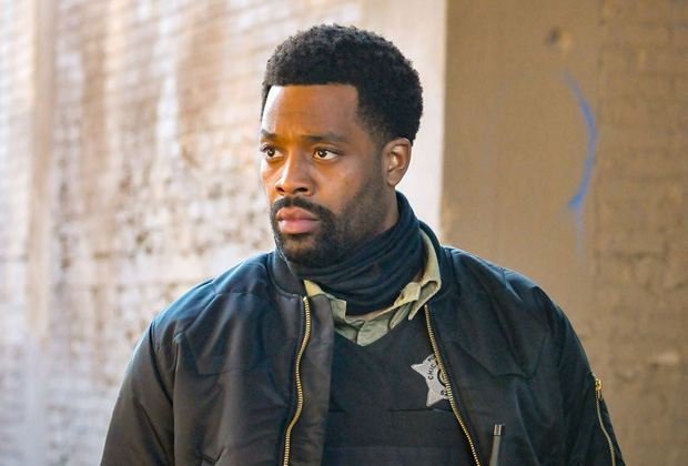 LaRoyce Hawkins in Chicago P.D.