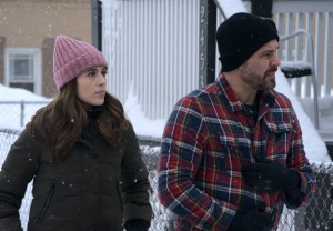 Marina Squerciati and Patrick John Flueger in Chicago P.D. Season 8