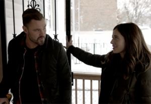 Patrick John Flueger and Marina Squerciati in Chicago P.D. Season 8