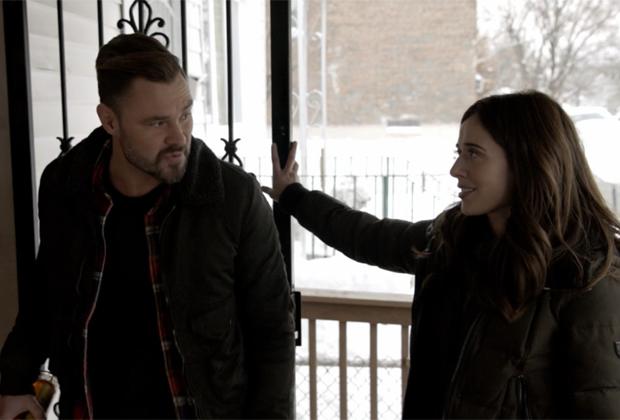 Patrick John Flueger and Marina Squerciati in Chicago P.D. Season 8