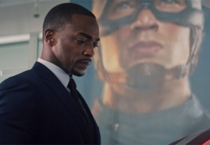Anthony Mackie in Falcon and the Winter Solider