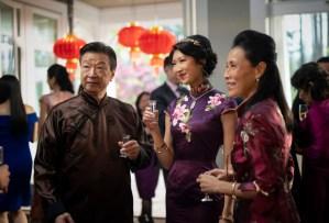 Tzi Ma, Shannon Dang and Kheng Hau Tan in The CW's Kung Fu