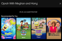 Paramount+, Minus: Why Oprah's Meghan/Harry Interview Is Oddly MIA on New Streaming Service