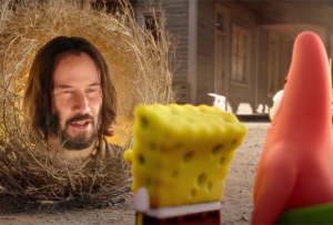 How SpongeBob Movie: Sponge on the Run Willed Keanu Reeves to Appear — Plus, Kamp Koral Prequel Scoop
