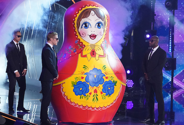 The Masked Singer SEason 5 Russian Doll Shallow VIdeo