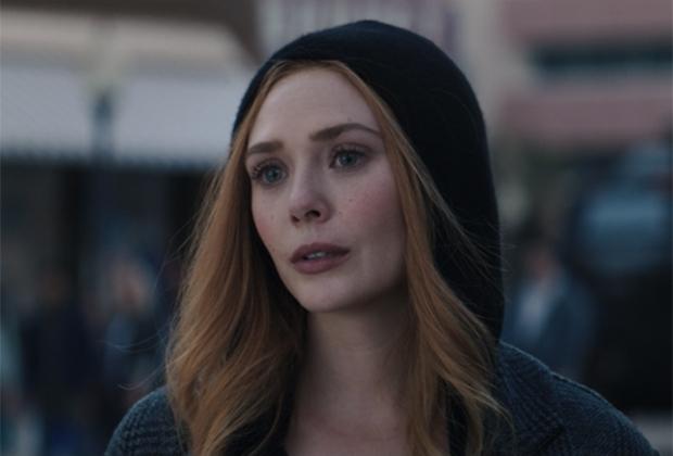 Elizabeth Olsen in WandaVision finale