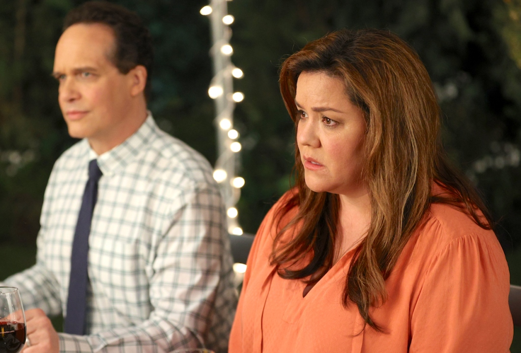 "AMERICAN HOUSEWIFE - ""The Election"" – Katie pushes Cooper (Logan Pepper) to share his passion for the culinary arts and ambition of becoming a chef with his autocratic father, Doyle Bradford (Joel McHale). Meanwhile, Greg and Principal Ablin (Jerry Lambert) go head-to-head when the election results offer an interesting twist. And the Otto family gets the surprise of a lifetime on the season finale of ""American Housewife,"" WEDNESDAY, MARCH 31 (8:30-9:00 p.m. EDT), on ABC. (ABC/Raymond Liu) KATY MIXON"