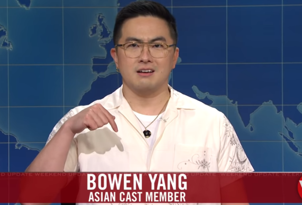SNL Weekend Update: Bowen Yang Urges You to 'Fuel Up, Do More' to Counter Anti-Asian Hate Crimes