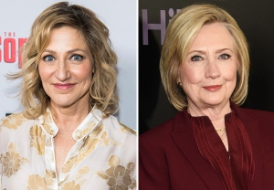 Edie Falco As Hillary Clinton