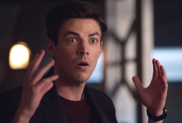 Flash Barry Imitates Wells