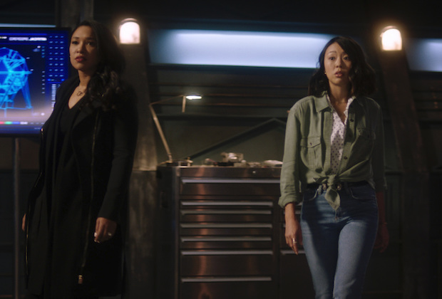 Flash 7x02 Iris Kamilla Singh Rescue